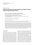 """báo cáo hóa học:"""" Research Article A Bayesian Analysis for Identifying DNA Copy Number Variations Using a Compound Poisson Process"""""""