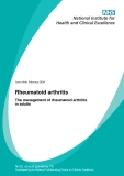 Rheumatoid arthritis - The management of rheumatoid arthritis in adults