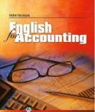 Sách English for accounting